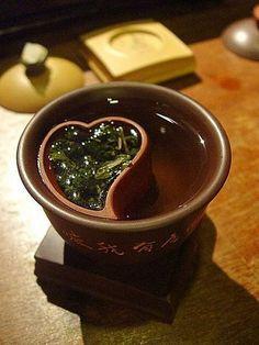 heart Chinese tea cup #Taiwan  台灣