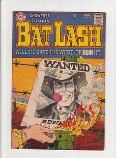 Vintage 1968 Bat Lash DC Comics Aug. No. 76 Will by michiegoodsny