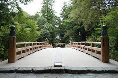 風日祈宮橋 in Japan Ise Jingu