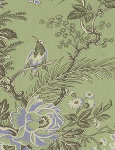 Muscat Vintage wallpaper from Lewis and Wood