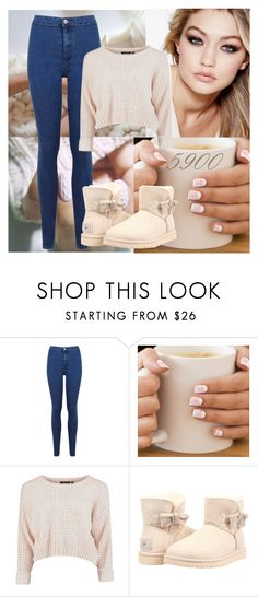 """5900 Followers ~ January"" by amymorgan1999 ❤ liked on Polyvore featuring Maybelline, Miss Selfridge, UGG Australia, women's clothing, women's fashion, women, female, woman, misses and juniors"