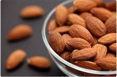 Almonds are neutral and sweet. They ventilate the lungs, relieve coughs and asthma, transform phlegm, and lubricate the intestines. For cough and asthma, grind almonds to a fine meal, add fructose; dissolve 2 tablespoons in water. Reference: The Tao of nutrition, Maoshing Ni - Cathy McNease - Sevenstar, Communications - 1987