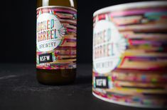 Stefan Andries - Wicked Barrel Brewery - World Brand Design Society / Wicked Barrel is craft brewery founded in 2017 in Romania, where they are considered one of the best breweries in the country. Best Craft Beers, Beer Brands, Beer Packaging, Article Design, Packaging Design Inspiration, Ipa, Drinking Tea, Glass Bottles, Brewery