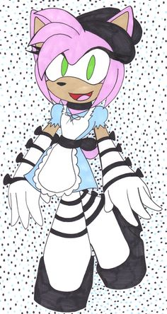 Amy Rose As Alice