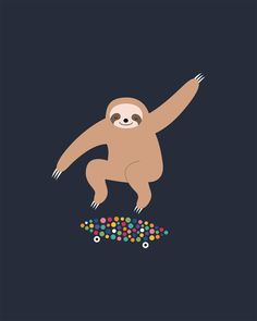 Sloth Gravity - Stay live slow, dream big and fly high, serenely as if gravity is just turned off : ) Iphone Homescreen Wallpaper, Wallpaper Iphone Cute, Cute Wallpapers, Cute Baby Sloths, Cute Sloth, Baby Otters, Gravity Art, Sloth Drawing, My Spirit Animal