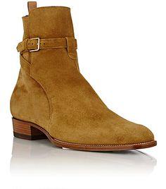 Saint Laurent Hedi Jodhpur Boots - Boots - Barneys.com