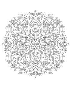 50 Original Hand Drawn Mandala Designs