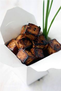 Mango & Tomato: Sweet, Sticky & Spicy Tofu