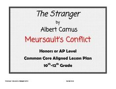 the progression of meursaults character in the stranger a novel by albert camus In his novel the stranger1, albert camus gives expression to his philosophy of  the absurd the novel is a first-person account of the life of m meursault from the .