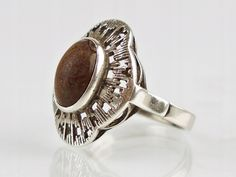 Old Jewelry, Jewelry Art, Jewellery, Rings N Things, Signet Ring, Band Rings, Poland, Gemstone Rings, Silver Rings