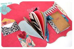 Memory Files by Heidi Swapp - an alternative to traditional scrapbooking.