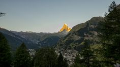 https://flic.kr/p/FyU181 | Sunset on Zermatt | Overhype? Certainly. And too much a city nowadays for me. But this is village of the magnificent Matterhorn. What a view!