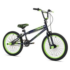 The Avigo 20 inch Fade Bike has a sturdy steel frame; front and rear brakes; front and rear pegs and a quick adjust seat clamp.<br><br>The Boy's 20 inch Avigo Fade Bike  Features:<br><ul><li>Front and rear brakes</li><br><li>Front and Rear pegs</li><br><li>Quick Adjust seat</li></ul><br><br>Toys'R'Us is the exclusive home for great deals on durable and economical kid's bikes and adult bicycles from Avigo. From the first ride-on training wheels to perfecting BMX stunts, Avigo girls and boys…