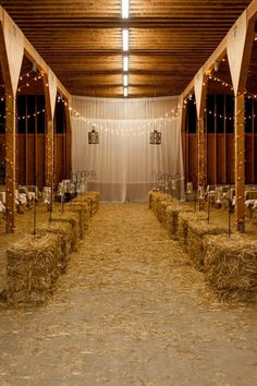 Barn ceremony #country wedding ... Wedding ideas for brides, grooms, parents & planners ... itunes.apple.com/... … plus how to organise an entire wedding ♥ The Gold Wedding Planner iPhone App ♥