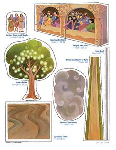 LDS Primary Book of Mormon lesson 4 the Tree of Life Fhe Lessons, Primary Lessons, Object Lessons, Activity Day Girls, Activity Days, Lds Seminary, Flannel Board Stories, Family Home Evening, Family Night