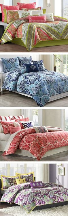 Mix patterns and colors to create a beautiful, well-balanced bed. Make your bedroom a luxurious retreat within your home with one of our comfy bedding sets or a new set of sheets. Visit Wayfair and sign up today to get access to exclusive deals everyday up to 70% off. Free shipping on all orders over $49.