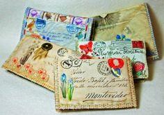 Embellished Vintage Envelope NC