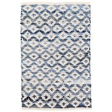 Dash and Albert Rugs Denim Rag Diamond Ivory Woven Cotton Rug Swatch Wool Area Rugs, Blue Area Rugs, Blue Rugs, Dash And Albert, Burke Decor, Geometric Rug, Rug Sale, Contemporary Area Rugs, Indoor Outdoor Area Rugs