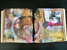 queen on a card // by bun // artist: roxanne coble