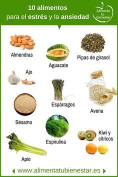 10 Alimentos que te ayudarán a reducir el estrés