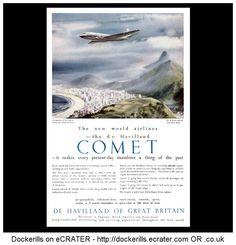 De Havilland Comet Advert. From the Sphere Magazine, September 5th, 1953.