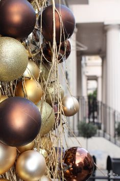 Belgravia Christmas Window by Neill Strain West Halkin Street