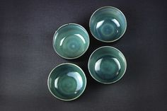4 Simply green bowls — Tristan Philippe
