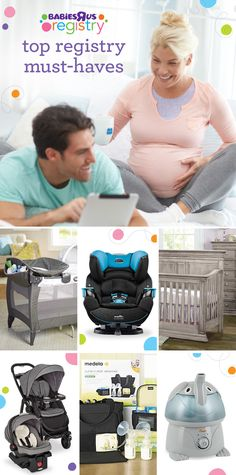 These registry picks are great go-tos for life with baby. Appealing design? Check! Innovative features? Built right in! Long-term value? Bank on it! They're all parent favorites. So make room for sleepy time, gear up for on the go, get ready to feed baby, and set aside time to play. Best part of it? Your registry will be well under way.