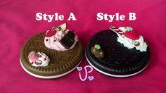 Decoden Cookie Compact Mirrors by PancakeMakesPlush on Etsy #decoden #lolita fashion