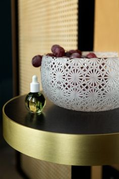 Odette collection   Handmade crystal bowl. Hand-cutted. Designed by Rony Plesl. Rückl Contemporary. Colaboration with Byssine. Photo: Aneta Benedict 18th, Contemporary, Crystals, Tableware, Glass, Interior, Handmade, Collection, Design