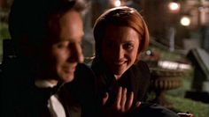 Mulder and Scully in Hollywood AD