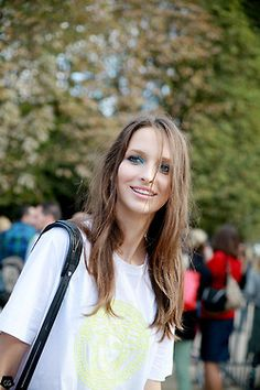 cgstreetstyle:  My sweet Waleska Gorczevski by Claire Guillon