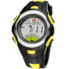 Halumi Digital Waterproof Sport Alarm Boys Watch for Students Chronograph *** You can get more details by clicking on the image.(This is an Amazon affiliate link)
