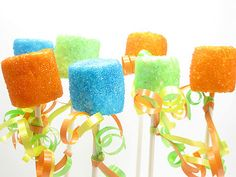 Party Marshmallows For New Year's Eve