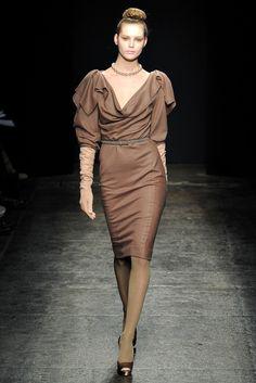 Donna Karan Fall 2011 Ready-to-Wear Fashion Show - Juju Ivanyuk