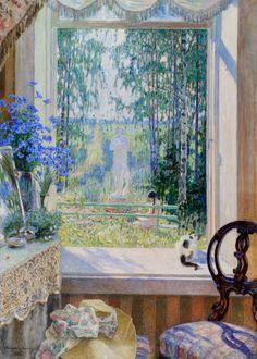 "Nikolai Petrovich Bogdanov-Belsky (Russian painter, 1868-1945) - ""Summer"", 1911"