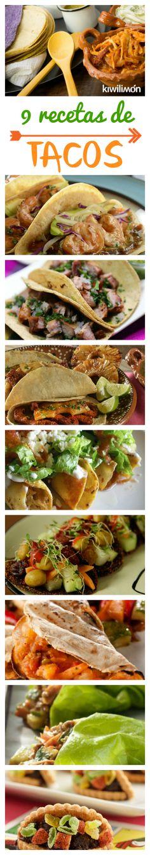 Uno de los antojitos mexicanos más populares dentro de la gastronomía mexicana son los tacos. Aquí encontrarás desde los tradicionales tacos de pastor, tacos dorados de papa hasta versiones saludables. Mexican Dishes, Mexican Food Recipes, Dinner Recipes, Ethnic Recipes, Slow Cooker Recipes, Cooking Recipes, Healthy Recipes, Tacos Dorados, Asian Street Food