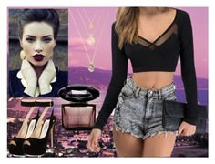 """""""Untitled #36"""" by justanangel-1999 on Polyvore featuring Prada and Versace"""