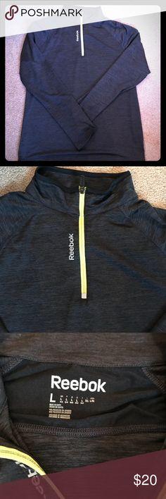 💥SALE💥Reebok Sports Pullover Reebok Sports Pullover - Lightweight, wicking material. Reebok Tops Sweatshirts & Hoodies