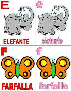 Per uno dei miei tanti laboratori a scuola, avevo creato tempo fa delle simpatiche carte per imparare le lettere dell'alfabeto. Le avevo realizzate sul tema degli animali, sia con le lettere maiusc...