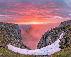 Ben Nevis during Summer Solstice, Highlands, Scotland.
