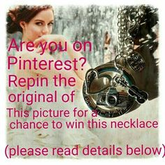 Find this picture https://www.pinterest.com/pin/554576141600960298/ on Pinterest and repin it for a chance to win the necklace in the picture. Draw is March 15.
