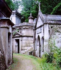 Highgate Cemetery, London -- Although its most famous occupant is Karl Marx, there are at least 850 notables buried at Highgate.