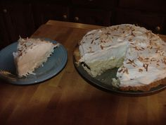 Make and share this Southern Coconut Cream Pie recipe from Food.com.