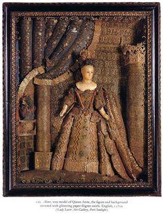 English, c.1710 Embroidery Stitches Tutorial, Embroidery Applique, Mediums Of Art, Textile Fiber Art, Assemblage Art, Casket, French Artists, Art Tutorials, Paper Art