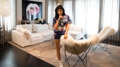 Dream living room - Kylie Jenner's house