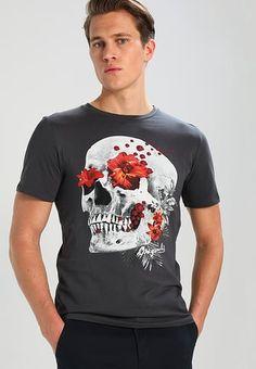 db7b1779ebf7 JORNEW STROUD SLIM FIT - Print T-shirt - total eclipse