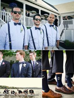 2014 Nautical Wedding Ideas for Groomsmen
