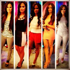 Rocsi's Runway look for the week of April 9 all styled by @stylecarmen ...