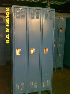 Used Hallowell Full Door Lockers Lockers For Sale, Used Lockers, Door Locker, Half Doors, Personal Storage, Locker Storage
